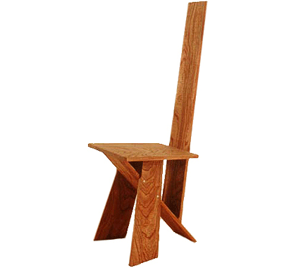 Elm Plank Dining Chair