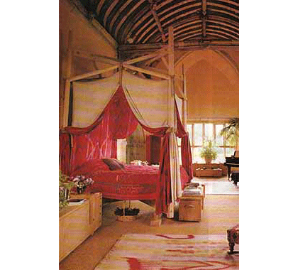Stavordale Four Poster Bed