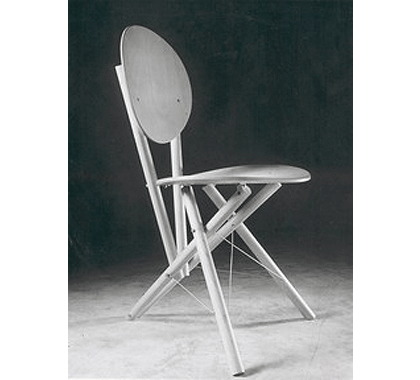 Triangulated, Wired-braced Chair