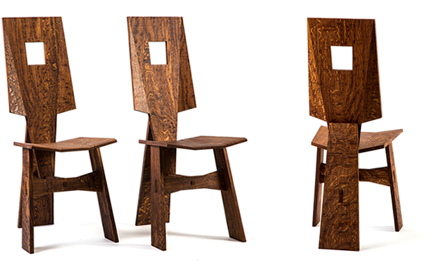 Pair Dining Chairs
